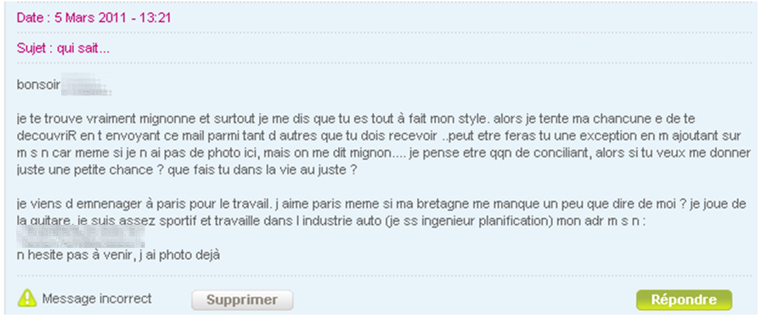 Site de rencontre par mail [PUNIQRANDLINE-(au-dating-names.txt) 26